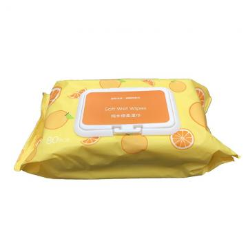 Customized Non Alcoholic Disinfectant Wipes Sterile Antibacterial Wipes