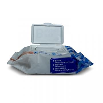 Portable Disinfectant Tissue 75% Alcohol Antibacterial Towel Cleaning Sterilizing Wet Wipe 50sheets/Pack