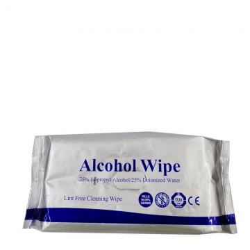 Wholesale Ce FDA 70PCS 75% Alcohol Wet Wipes Disinfectant Cleaning Wipes