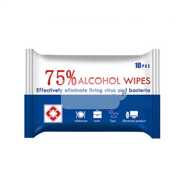 Antiseptic Sterilized Germicidal Disinfectant Cleansing Non Woven Wet Wipes