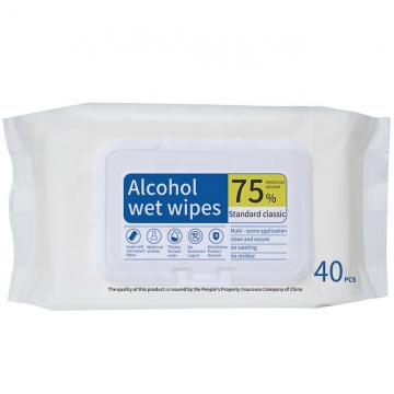 Water Based Alcohol Antibacterial Wet Wipe Non-Woven Cleaning Facial Tissualcohol Clean Wet Wipes