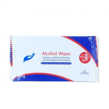 Daily 75% alcohol disinfectant hand wipes clean cans packing 72pcs wet wipes