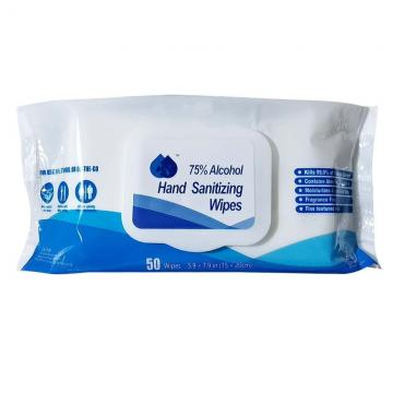High Quality Disposable75% Wet Wipes For Skin Antiseptic Cleaning