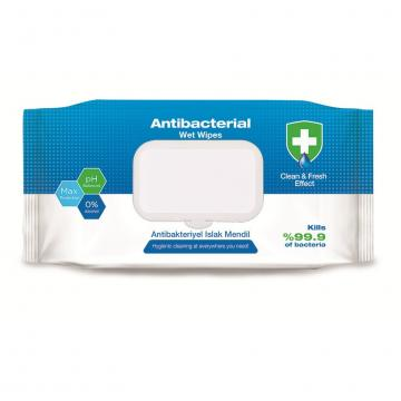 Environment friendly chemical free clean wet wipes