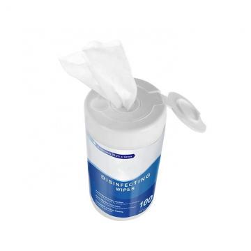 Wholesale Portable Disinfectant Adult Wet Wipes by Individually Wrapped 100/120PCS Per Canister
