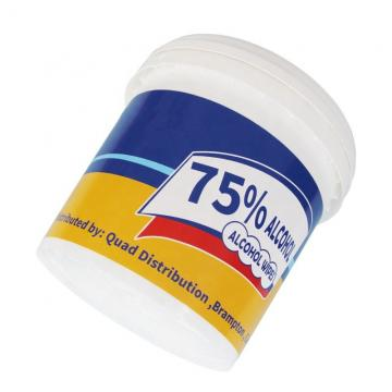 70% Ethyl Disinfectant Alcohol Wet Wipes Single Pack with FDA&Ce