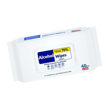 Custom Factory Price Non-Woven 70% Ethyl Alcohol Wipes