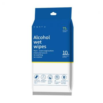 Customized Disinfectant Spunlaced Non-Woven Fabric Wet Wipes