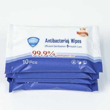80wipes Yellow Lemon-Flavored Alcoholic-Free Disinfecting Wipes Barreled Wipes