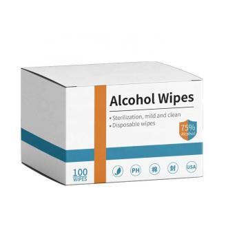 50% Polyester &50% viscose spunlace non woven fabric for wet wipes/ wet wipes fabric