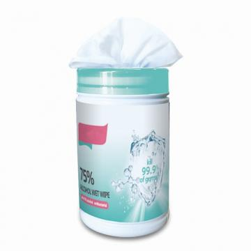 Custom Cleaning Wet Wipes Single Package Wet Wipes for Weddings and Parties
