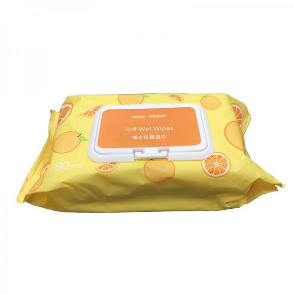 Stocked Non-Alcoholic Antibacterial Wet Wipes #1 image