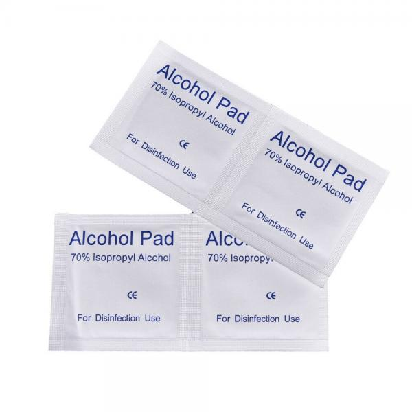 oem real factory Spunlace non woven 70% 75% IPA alcohol wipe manufacturers #3 image