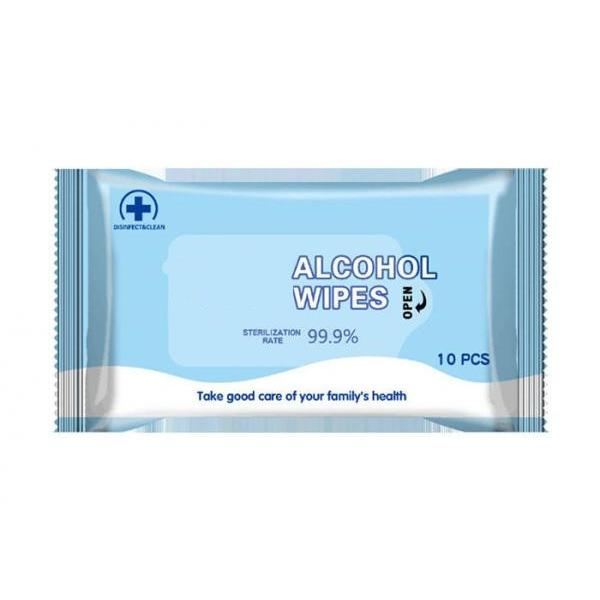 Daily 75% alcohol disinfectant hand wipes clean cans packing 72pcs wet wipes #2 image