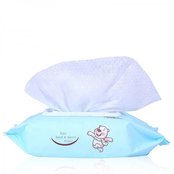 Custom Wholesale Non-Alcohol Sensitive Skin Cleaning Use Baby Wet Wipes #2 image